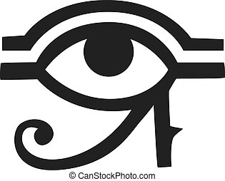 Egypt God Ra vector symbol hand drawn set. - Egypt God Ra...