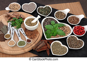 Natural Alternative Medicine - Herbs and spices used in...