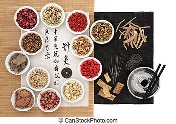 Acupuncture Chinese Medicine - Chinese herbs, acupuncture...