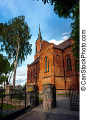 Church in Sniadowo Village, Poland - Sniadowo Village,...