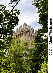escondido,  castle's, madeiras, torre