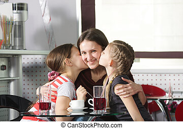 Happy mommy
