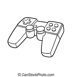 Gamepad symbol - This is an illustration of Gamepad symbol