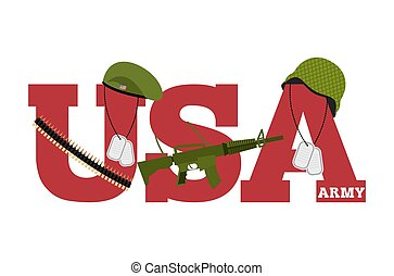US Army Symbol Of Americas Army logo for US armed forces...