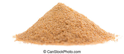 Coco Sugar (isolated on white)