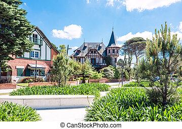 Carrasco neighbourhood, Montevideo, Uruguay - Coastal avenue...