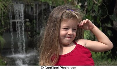 Adorable Young Toddler Girl