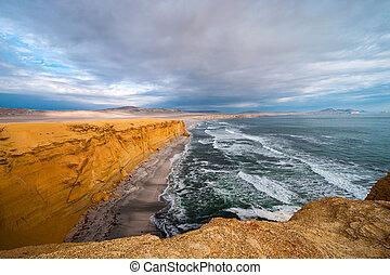 Peruvian Coastline, Paracas National Reserve - Paracas...