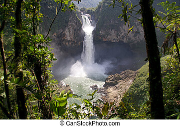 San Rafael Falls The Largest Waterfall in Ecuador