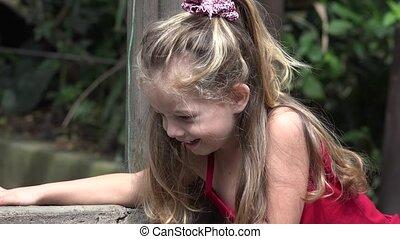 Curious Young Toddler Girl