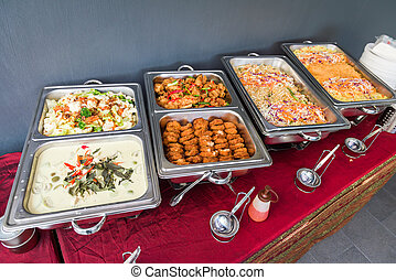 Sumptuous buffet spread