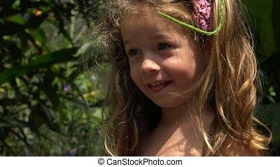 Cute Toddler Female Child