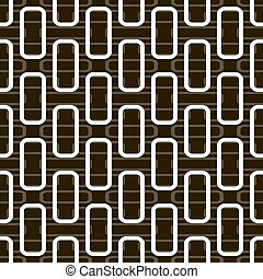 Seamless pattern of rectangles with rounded corners -...