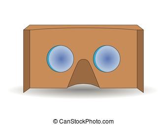 vr cardboard glasses