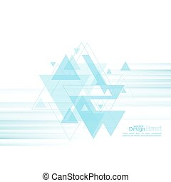 Abstract background with blue stripes, stream flying...