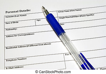 Application and personal details Form - Application and...