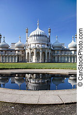 Royal pavilion in brighton in England
