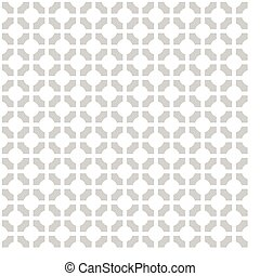 Simple modern gray geometric texture - vector seamless pattern