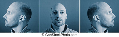 mugshot identity criminal - mugshot of criminal from front...