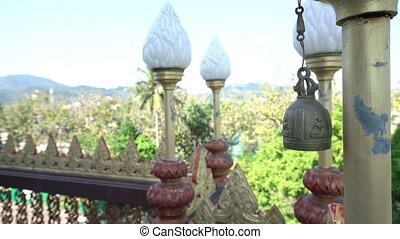 Fence and lamp beautifully decorated in Thailand - Vire of...