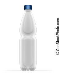 Bottle pet 500 ml - illustration, Bottle pet 500 ml