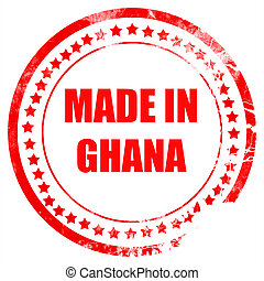 Made in ghana with some soft smooth lines