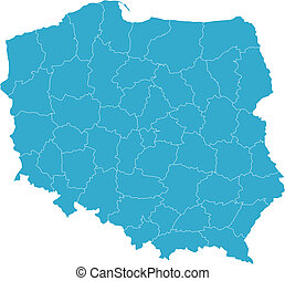 Map of Poland - There is a map of Poland country