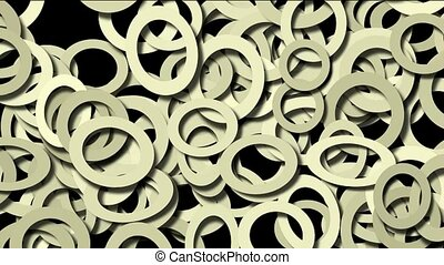 abstract round pattern background