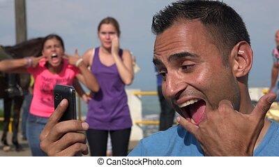 Photobomb Of Selfie Photos