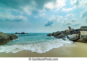 Lamai beach. Koh Samui. Thailand.