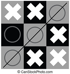 tic tac toe - the game of tic tac toe