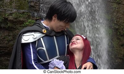 Romantic Cosplay Prince And Maiden