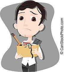 got fired businessman - cartoon businessman got fired...