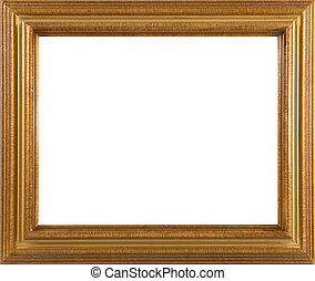 beautiful wooden picture frame