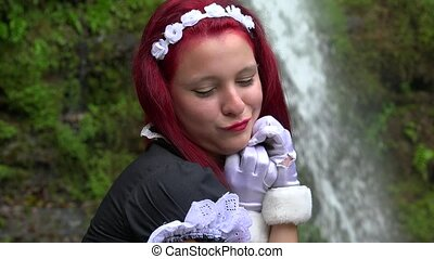 Teen Cosplay Female Maiden