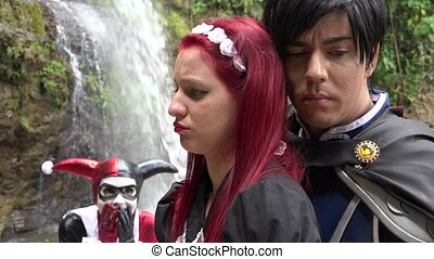 Couple In Romantic Love