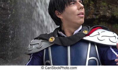 Heroic Prince In Cosplay Costume