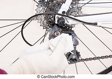 Preparing bicycle for a new season