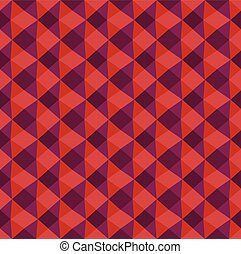 Geometric triangle seamless texture Colorful red pattern of...