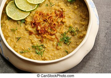 Haleem Traditional Ramadan food like Khichra - Haleem -...