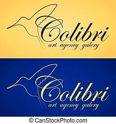 Two colibri banners