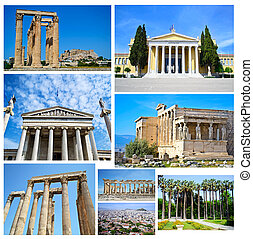 collage of Athens Greece
