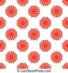seamless pattern with bstract sun vector flat - seamless...