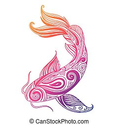 Vector Ornamental Fish
