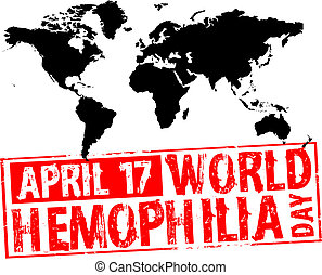 april 17 - world hemophilia day