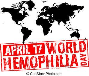 april 17 - world hemophilia day