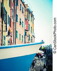 Italian Village Fishing Boat