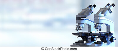 Microscope - Scientific Microscope Medical health care...
