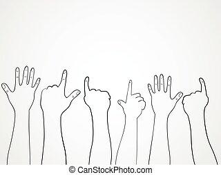 Crowd Hands