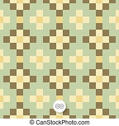 Seamless geometric background Mosaic Abstract Illustration...